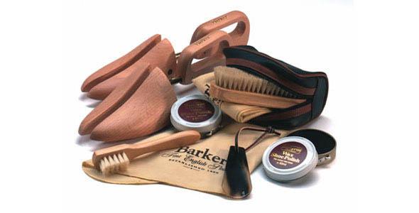 Kit de nettoyage de chaussures Barker